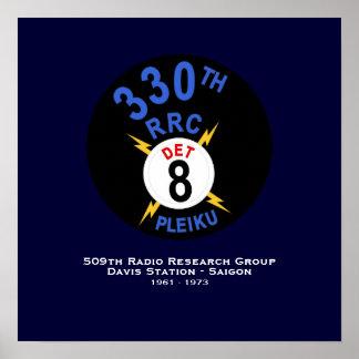330th RRC Det 8 Poster