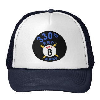 330th RRC Det 8 Trucker Hat