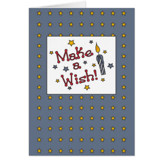3320 Make a Wish Birthday Greeting Cards