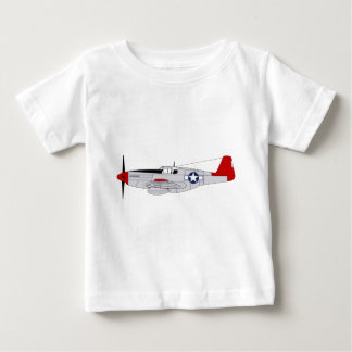 332nd Fighter Group - Red Tails - Tuskegee Airmen Baby T-Shirt