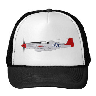 332nd Fighter Group - Red Tails - Tuskegee Airmen Trucker Hat