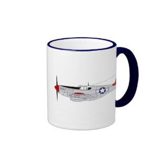 332nd Fighter Group Ringer Coffee Mug