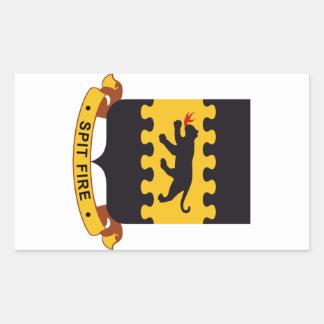 332nd Fighter Group - Tuskegee Airmen Rectangular Sticker