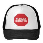3330 Show ID T-Shirt Mesh Hats