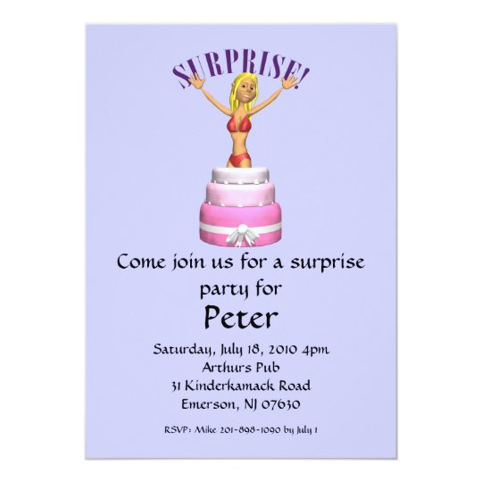 33364331, Come join us for a surprise party for... Card