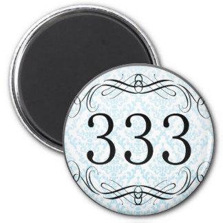 333 Area Code Refrigerator Magnet