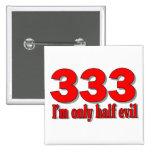 333 button 2 inch square button