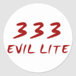 333 Evil Lite Sticker