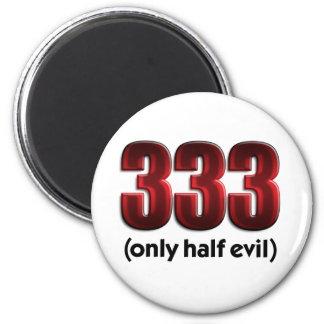 333 REFRIGERATOR MAGNET