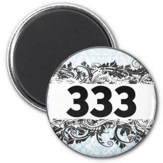 333 FRIDGE MAGNET