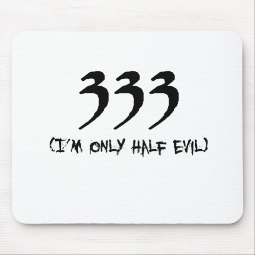 333 MOUSE PAD