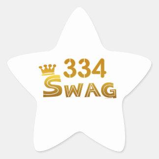 334 Alabama Swag Star Sticker
