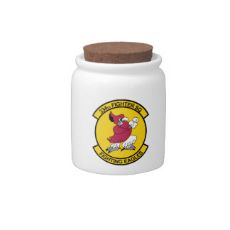334th Fighter Squadron - Fighting Eagles Candy Jars