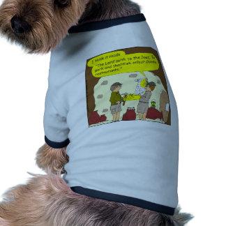 335 pork and shellfish Cartoon Dog Tee Shirt
