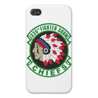 335th Fighter Squadron Insignia iPhone 4 Cases