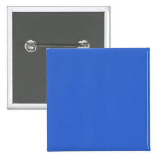 3366CC Solid Blue Background Color Template 2 Inch Square Button