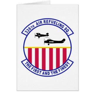 336th Air Refueling Squadron Card