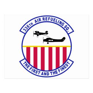 336th Air Refueling Squadron Postcard