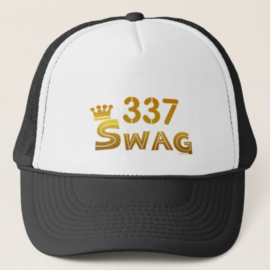 337 Louisiana Swag Trucker Hat