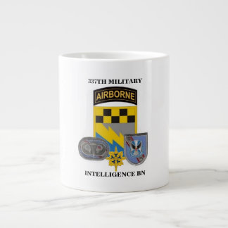 337TH MILITARY INTELL BN JUMBO MUG