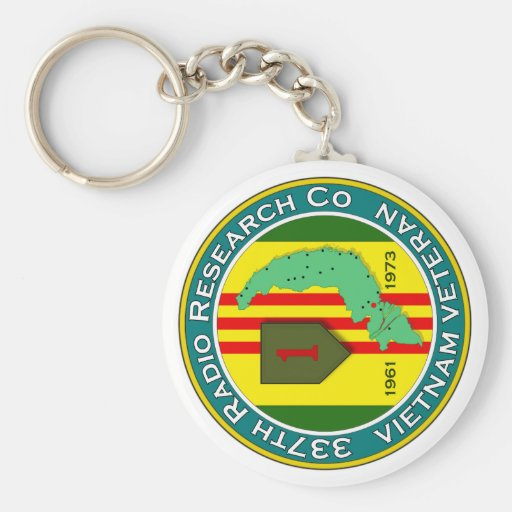 337th RRC - ASA Vietnam Key Chain