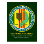 337th RRC - ASA Vietnam Post Cards