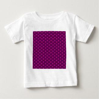 338 HOT PINK PURPLE CUTE HEARTS PATTERN BACKGROUND BABY T-Shirt