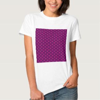 338 HOT PINK PURPLE CUTE HEARTS PATTERN BACKGROUND T-Shirt