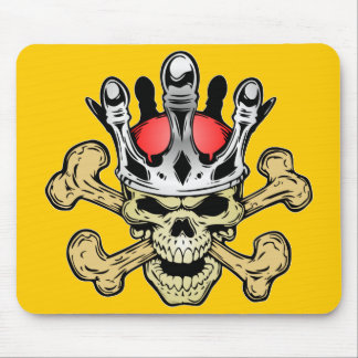 338 Skull King Color Mouse Pad