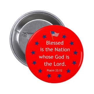 33 12 del salmo patriótico pins