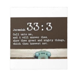33:3 de Jeremiah Bloc