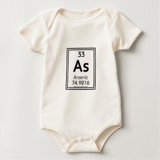 33 Arsenic Baby Bodysuit