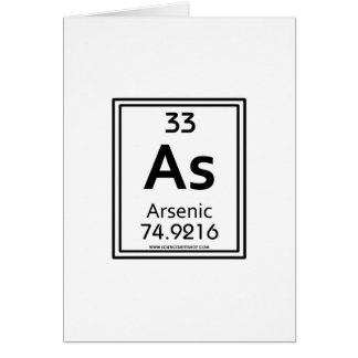 33 Arsenic Card