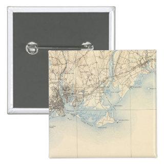 33 Bridgeport sheet Pinback Button