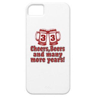 33 Cheers Beers Birthday Designs iPhone SE/5/5s Case