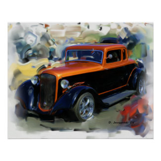 33' Dodge Coupe Poster