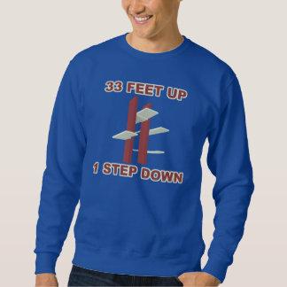 """""""33 Feet Up 1 Step Down"""" Platform Diving T-Shirt"""