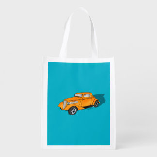 33 Ford 3 Window Coupe Reusable Grocery Bag