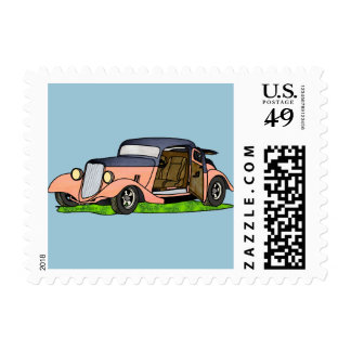 33 Ford Coupe Postage Stamp
