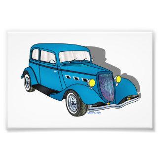 33 Ford Victoria - azul Fotografías