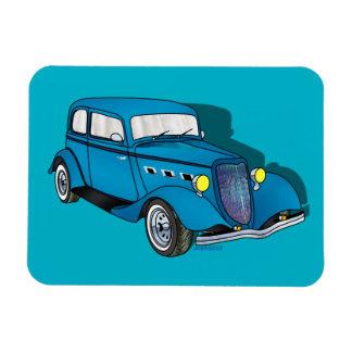 33 Ford Victoria - azul Iman Flexible