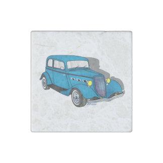 33 Ford Victoria - azul Imán De Piedra