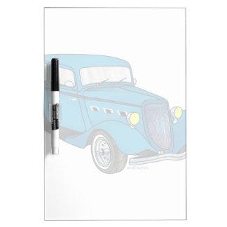 33 Ford Victoria - azul Pizarras Blancas De Calidad