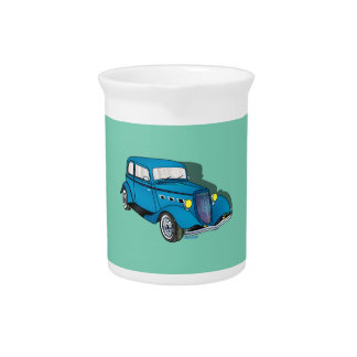 33 Ford Victoria - Blue Pitcher