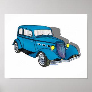 33 Ford Victoria - Blue Print