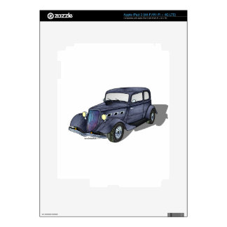 33 Ford Victoria Decals For iPad 3