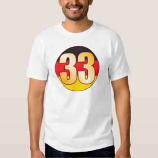 33 GERMANY Gold T Shirt