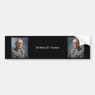 33 Harry S. Truman Bumper Sticker