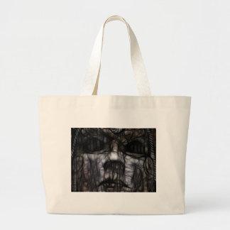 33 - Inky Lightless Large Tote Bag