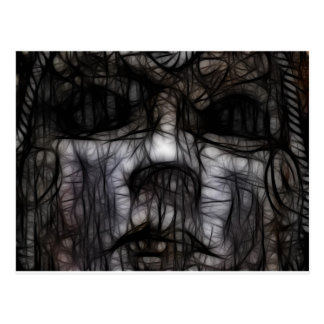 33 - Obscuro manchado de tinta Postales
